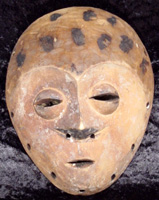 Mask from the Lega tribe of the Congo
