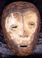Mask from the Lega tribe in the Congo