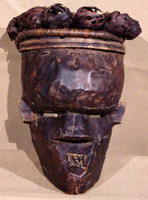 Mask from the Salampasu tribe in the Congo