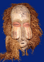 Mask from the Bamum tribe in Cameroon